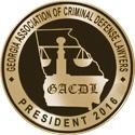 2016 GACDL Presidents Mark