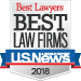 2018 US News Best Law Firms